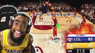 LAST SECOND CLUTCH THRILLER! OPAL ANTHONY DAVIS NBA 2K19