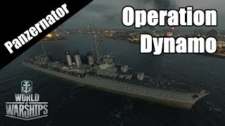 Operation Dynamo! Evacuation At Dunkirk W/ YotaSota! World Of Warships Cyclone Gameplay