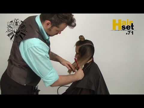 HAIR SET #71 Стрижка Лесенка