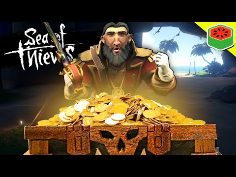 A SECRET TREASURE FOUND! | Sea of Thieves