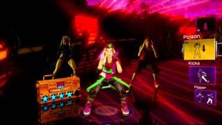 Dance Central 2 Glitch dances Poison