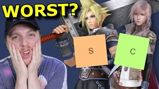 RANKING Every Final Fantasy! (Yes Even THAT Game)