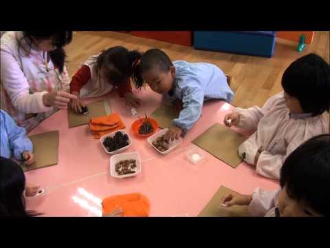 作品展への道(年少) 笠間市 ともべ幼稚園 園長ブログ