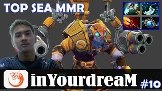 inYourdreaM - Tinker MID | TOP SEA MMR | Dota 2 Pro MMR Gameplay #10