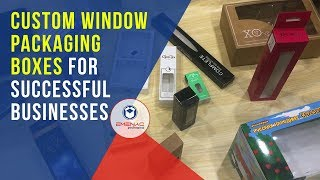 Why Window Packaging Boxes are Preferred by Successful Businesses? Emenac Packaging