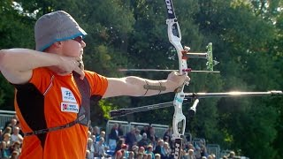 Archery in slow motion |Recurve bow | Odense 2016