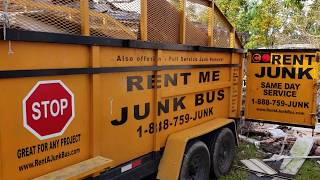 Drive up & Go Dumpster Service New Orleans  Junk Removal