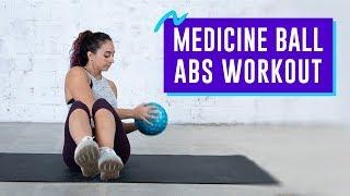 10-Minute Medicine Ball Abs Workout