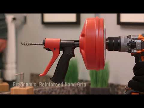 RIDGID POWER SPIN+ afvoerontstopper