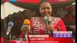 Naisula Lesuuda narrates how they forged Maina Njenga's senatorial bid in KANU