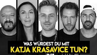 Was würdest du alleine mit Katja Krasavice machen? (Fragen mit Rewi, Abdel, Ana und Kale)
