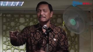 Menko Luhut Ceritakan Puasa Seorang Pengawalnya Saat Tugas di Timor Timur