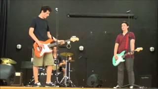 Homesick At Spacecamp - 'Cat like thief' and 'Always and Forever' (live at Humboldt Highschool)