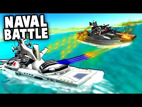 NEW Battleships vs Attack Boat! (Ravenfield Gameplay -