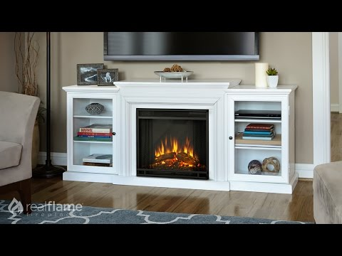 Real Flame Frederick Electric Fireplace Media Console