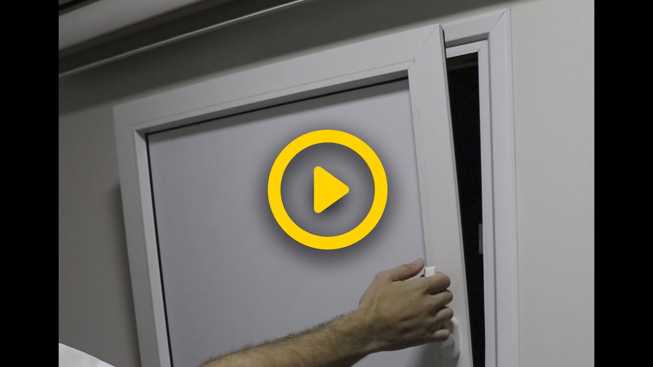Video - Janela Oscilo Batente