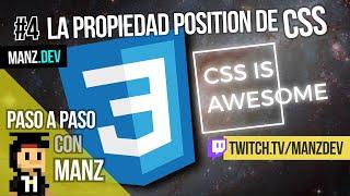 Video de Youtube: Uno de los temas más complejos de CSS es aprender a posicionar elementos. El posicionamiento relativo o absoluto es un buen punto de partida para aprender.