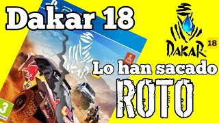 Dakar 18 - Han sacado el juego sin terminarlo!!   Opinión + Gameplay final