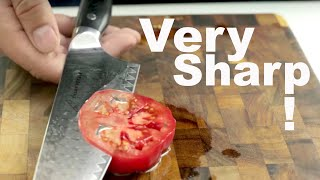 How to Sharpen a Knife to Razor Sharpness – Extremely Sharp, whetstone sharpening tutorial.