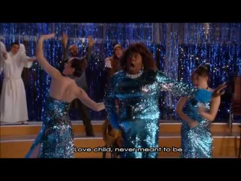 Glee - Love Child (Full Performance With Lyrics)