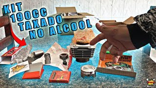 KIT 190cc COM PINO CURSADO 2MM || NOVO KIT PARA TITAN 150 ||