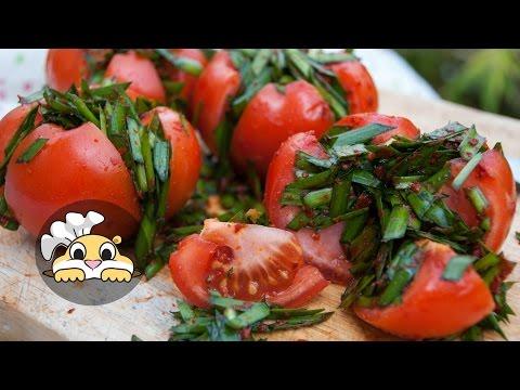 Tomato Kimchi: How to make Tomato Kimchi  (토마토 김치)