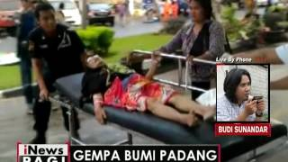 Live By Phone  Terkait Gempa Bumi Mengguncang Kota Padang  INews Pagi 02/06