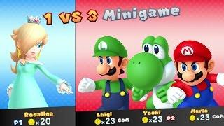 Mario Party 10 - Rosalina amiibo Board (2 Player amiibo Party Mode)