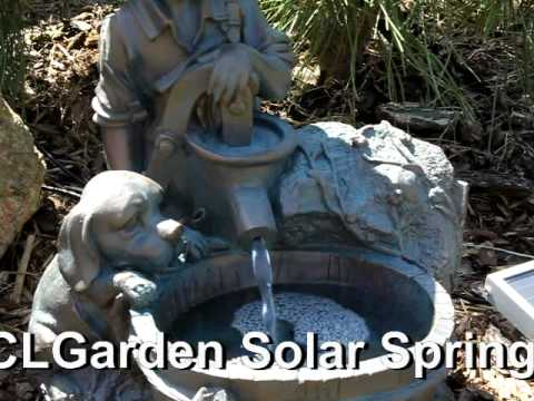 clgarden solar springbrunnen nsp5 zierbrunnen brunnen solarbrunnen gartenbrunnen ebay. Black Bedroom Furniture Sets. Home Design Ideas
