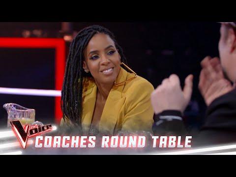 Never meet your hero, unless it's Whitney Houston (Coaches Round Table) | The Voice Australia 2019