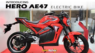 Hero Electric AE-47 Electric Bike | Range Top Speed | Techbytes