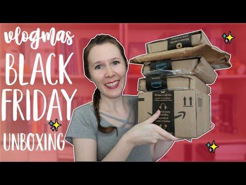 VLOGMAS #3 Unboxing da Black Friday | Leituras de Deni