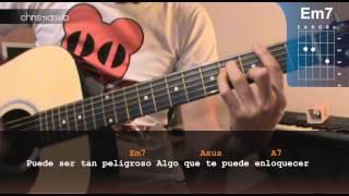 """Cómo tocar """"Querer"""" de Chetes en Guitarra (HD) Tutorial - Christianvib"""