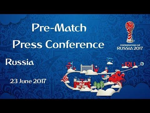 MEX vs. RUS - Russia Pre-Match Press Conference