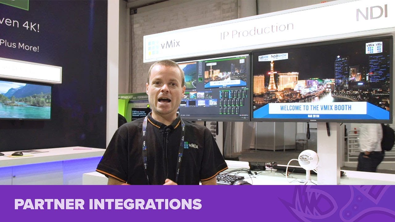 Bluefish444 with vMix at NAB Show 2019