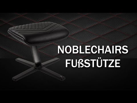 noblechairs Footrest / Fußstütze Vorstellung - Gaming Chairs