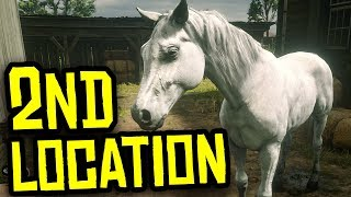 [PATCHED, No Longer Works] White Arabian Horse 2nd Spawn Location | Red Dead Redemption 2