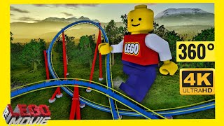 [4K 360 VR Video] Lego Movie & Star Wars Coaster Simulator for Google Cardboard 360° 3D VR SBS