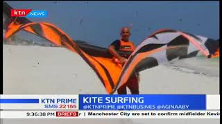Kite surfing gains attraction in Watamu