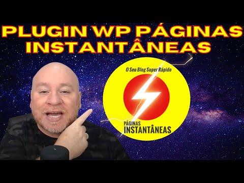 Seu Wordpress Super Rpido! Plugin WP Pginas Instantneas, abra seu Site ou Blog Instantaneamente