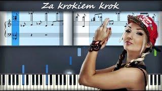 Cleo   Za Krokiem Krok | Piano Cover | Instrumental Karaoke
