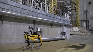 Boston Dynamics' robot dog sent into Chernobyl to sniff out radiation