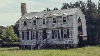 Incredible 250 Year Old Abandoned House W/ Beautiful Architecture