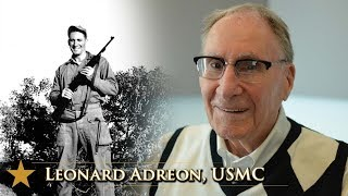 American Veterans Center features HILLTOP DOC author Leonard Adreon