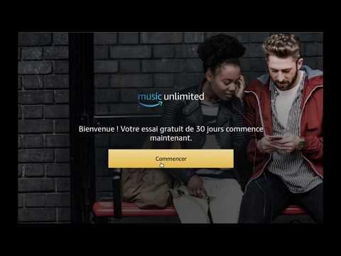 Amazon Music Test  - Amazon Music Unlimited France, GRATUIT 30 jours !