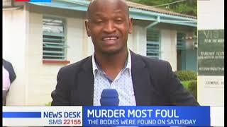 KDF Major arraigned in court, he is a suspect in murder of wife, children