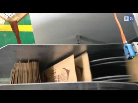 Станок для производства бумажных пакетов модели RZ-190