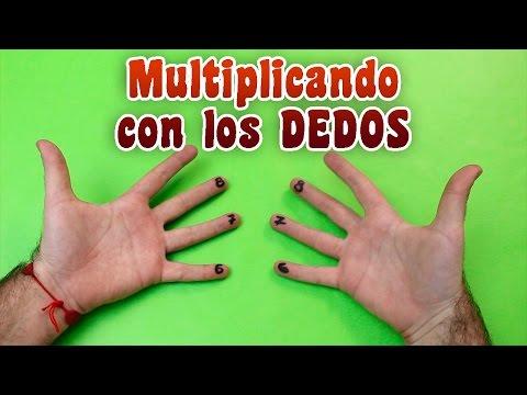 Cómo Multiplicar Con Los Dedos