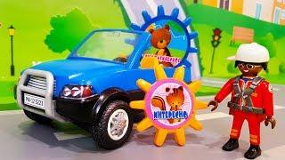 Мультики про машинки. Новая цветная игрушка в мультике – Аттракцион. Видео для детей Мультфильмы