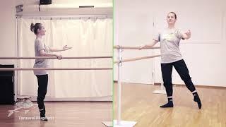 Ballett: Aleksandras Stange 03 – Tendus